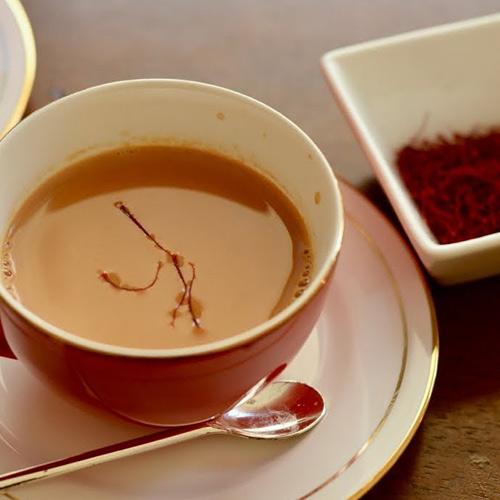 چای زعفران خوشمزه لیل